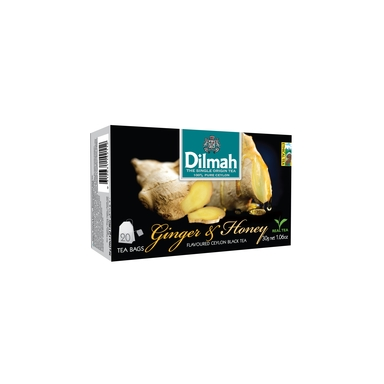 DILMAH Must tee Ginger & Honey 20x1,5g (niidiga)
