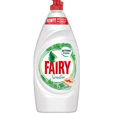 FAIRY Sensitive Nõudepesuvahend Tea Tree & Mint 900ml