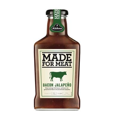 KÜHNE Made For Meat Peekoni-jalapeno kaste 375ml