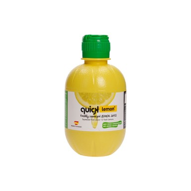 QUICKLEMON Sidrunimahl 99,96% 280ml