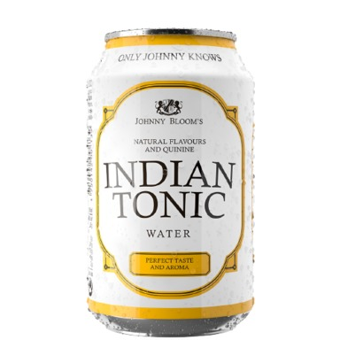 JOHNNY BLOOM'S Indian tonic water 33cl (purk)