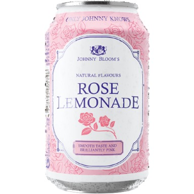 JOHNNY BLOOM'S Rose Lemonade 33cl (purk)