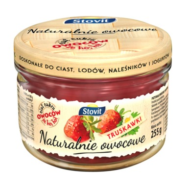 FRUITY BY NATURE Maasikamoos 255g