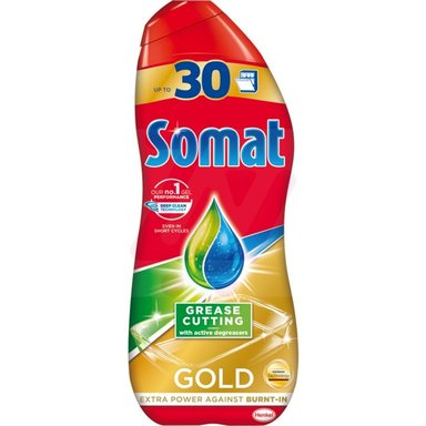 SOMAT Gold Nõudepesugeel Anti Grease 540ml (30 pesukorda)