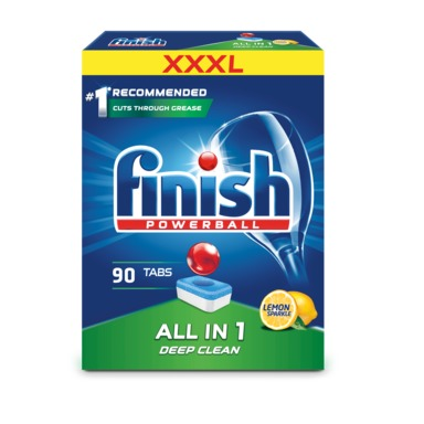 FINISH All in 1 Nõudepesumasinatabletid Lemon 90tk
