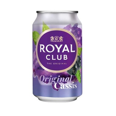 ROYAL CLUB Mustsõstramaitseline karastusjook 33cl (purk)