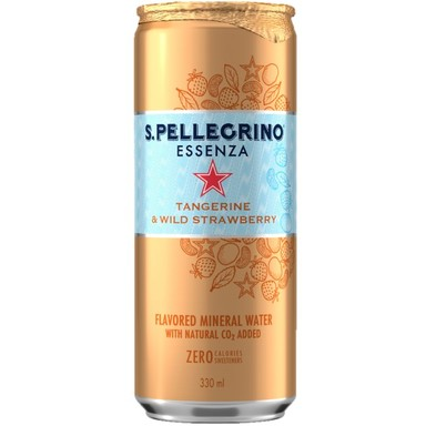 SANPELLEGRINO Essenza Tangerine&Wild Strawberry 330ml (purk)
