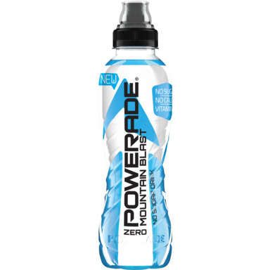 POWERADE Zero Mountain Blast spordijook 50cl (pet)