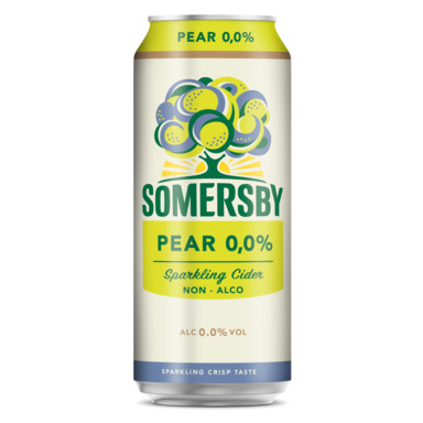 UUS! SOMERSBY Alkoholivaba siider Pear 50cl (purk)